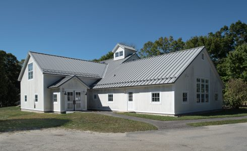 Exterior of the Cornwall Library in CT