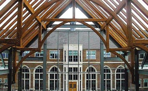 Arched Timber Frame