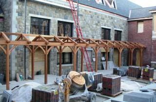 School Timber Frame