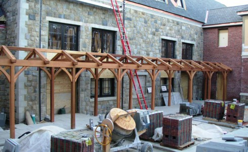 School Timber Frame