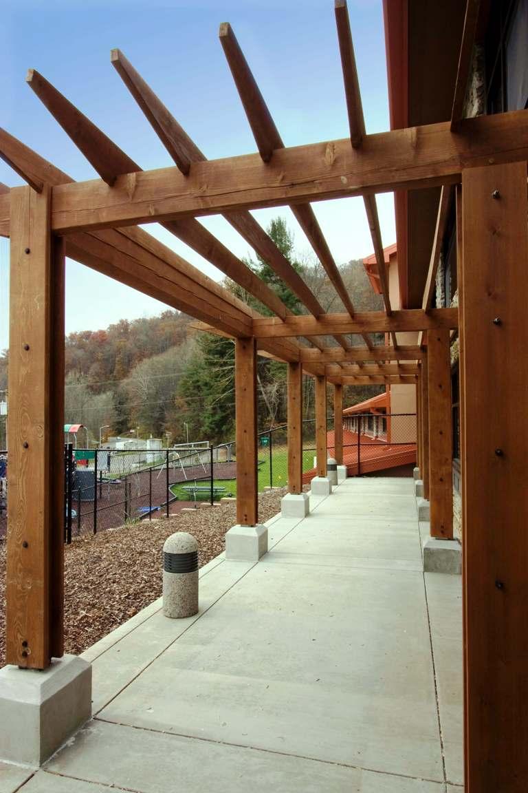 Timber Frame Pergola Posts
