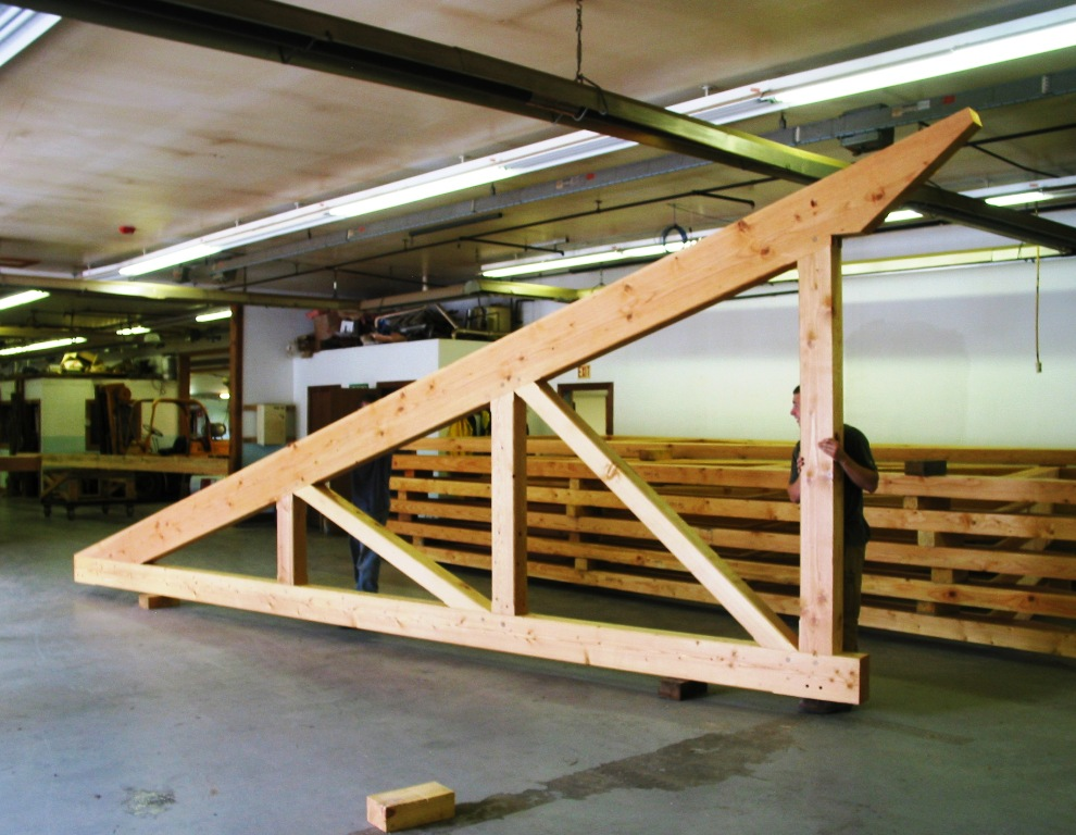 Custom Roof Trusses Handcrafted In Vermont