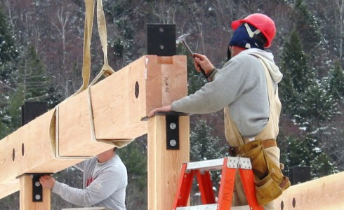 Timber Frame Assembly
