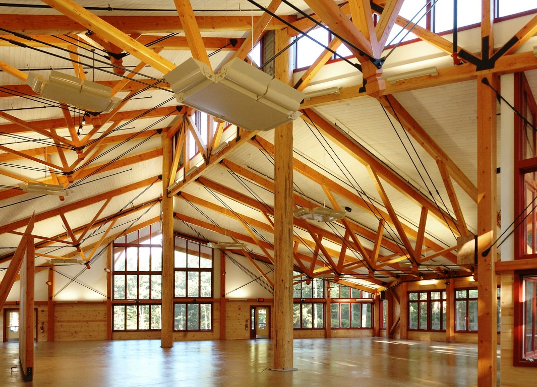 Timber Frame Dining Hall Post And Beam Camper Cabins