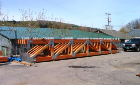 Timber Girder Trusses with Steel Joinery