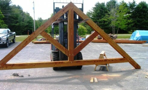 Timber Truss for Ski Resort