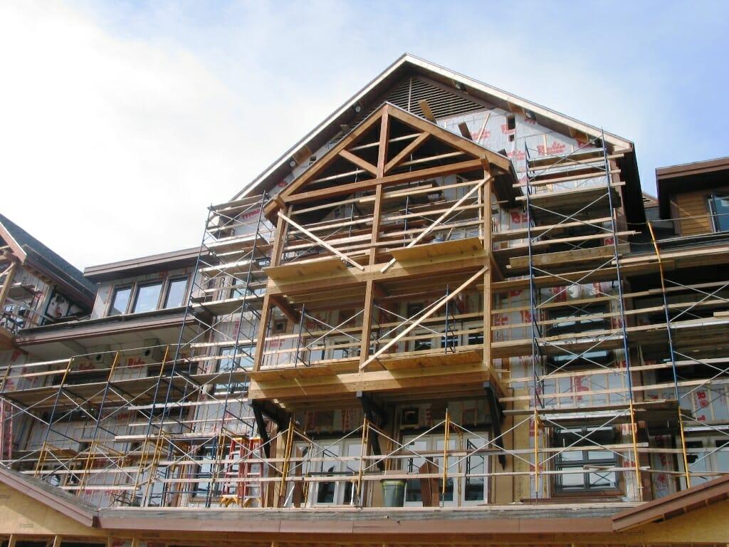 Ski Resort Timber Framing Vermont Timber Works