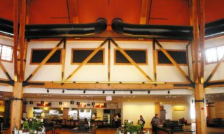 Heavy Timber Ring Truss and Cafeteria
