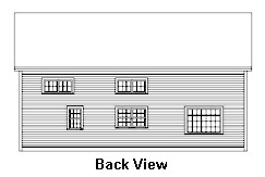 Timber Exterior Design Back View