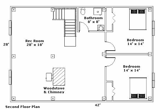 Post and beam cabin floor plans gurus floor for Post and beam floor plans