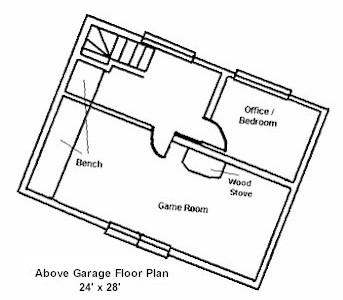 Post & Beam Floor Plan
