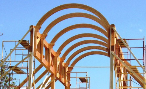 Glulam Timber Arches