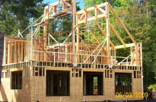 Timber Frame Installation