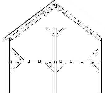 The Typical Bent for a Timber Frame Home