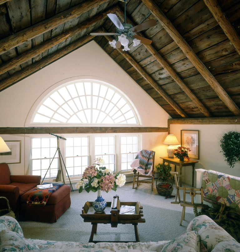 Timber Frame Farmhouse And Guest House
