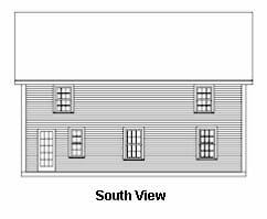 Back Design of a Timber Frame Home