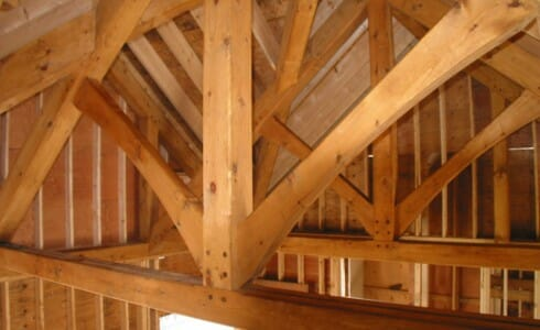 Kings Post Truss
