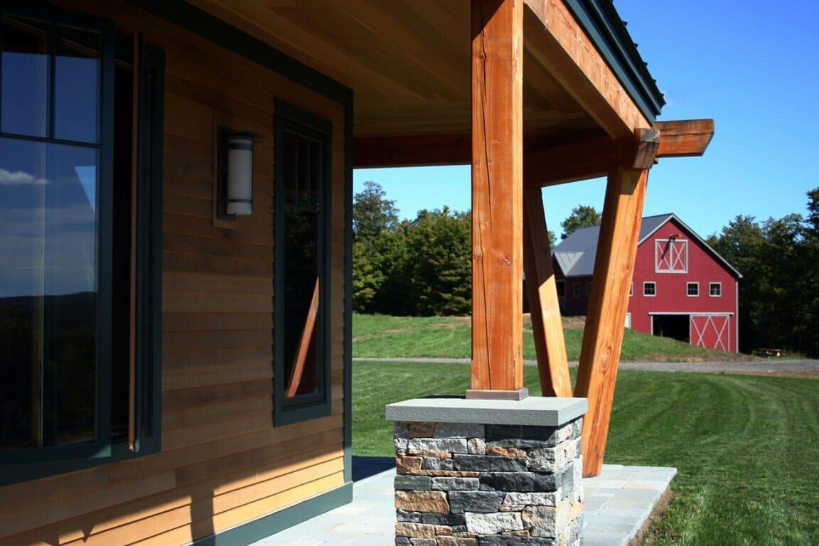 Night Pasture Farm Chelsea Vt Modern Timber Home