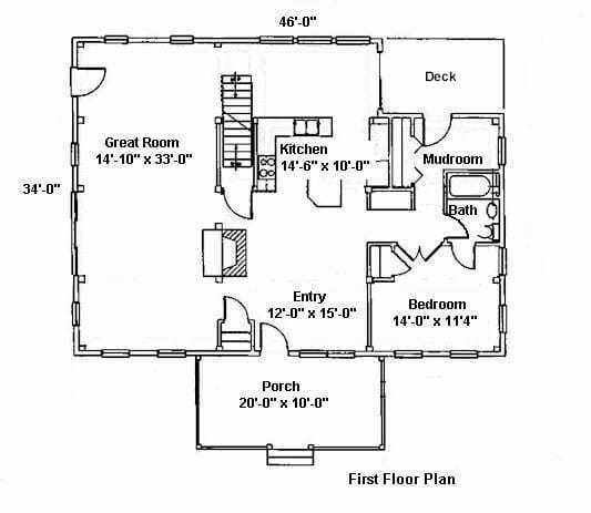 Handicapped Style House Floor Plans with Handicapped Home Plan