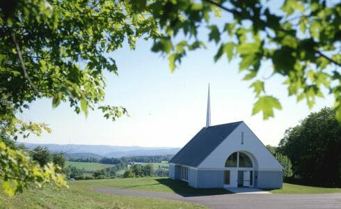 Veterans Memorial Chapel in Vermont
