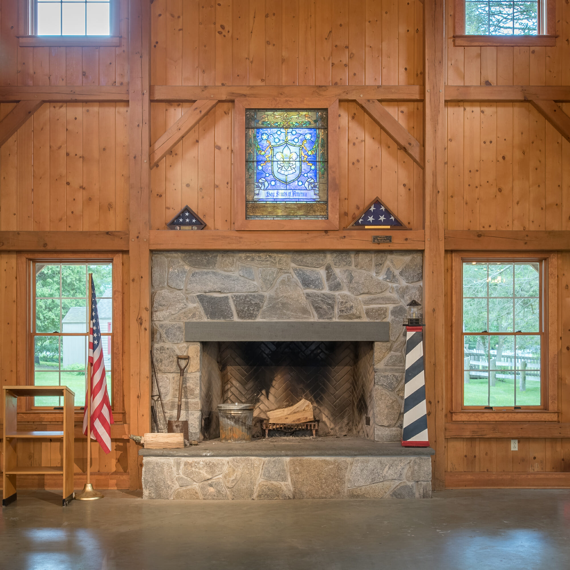 Dining Hall: Dining Hall Timber Frame For Scouts BSA