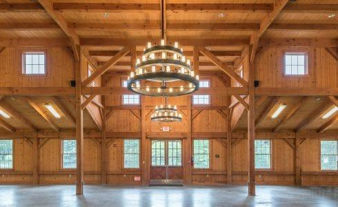 Interior of Deer Lake Dining Hall