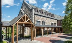 Hackley School Timber Frame