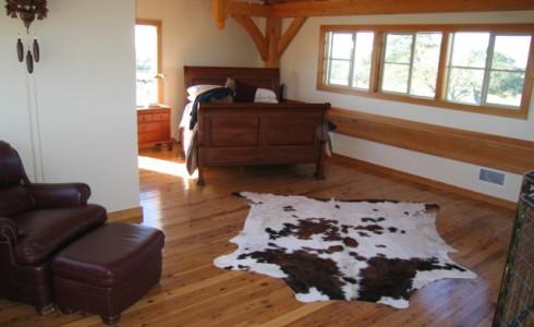 Timber Frame Bedroom