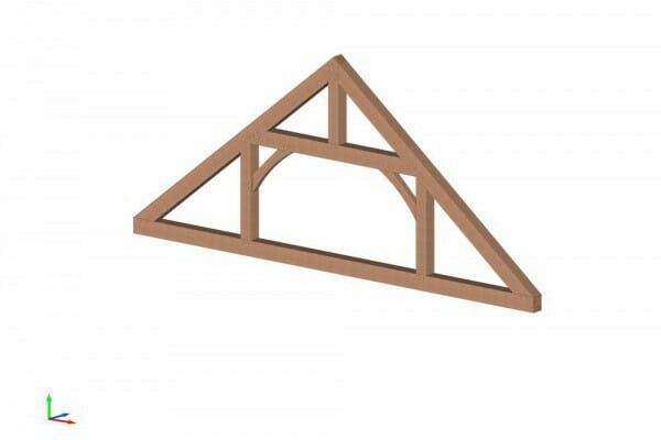 Vermont Timber Works queen post truss