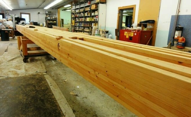 Heavy Timber Glulam Beam
