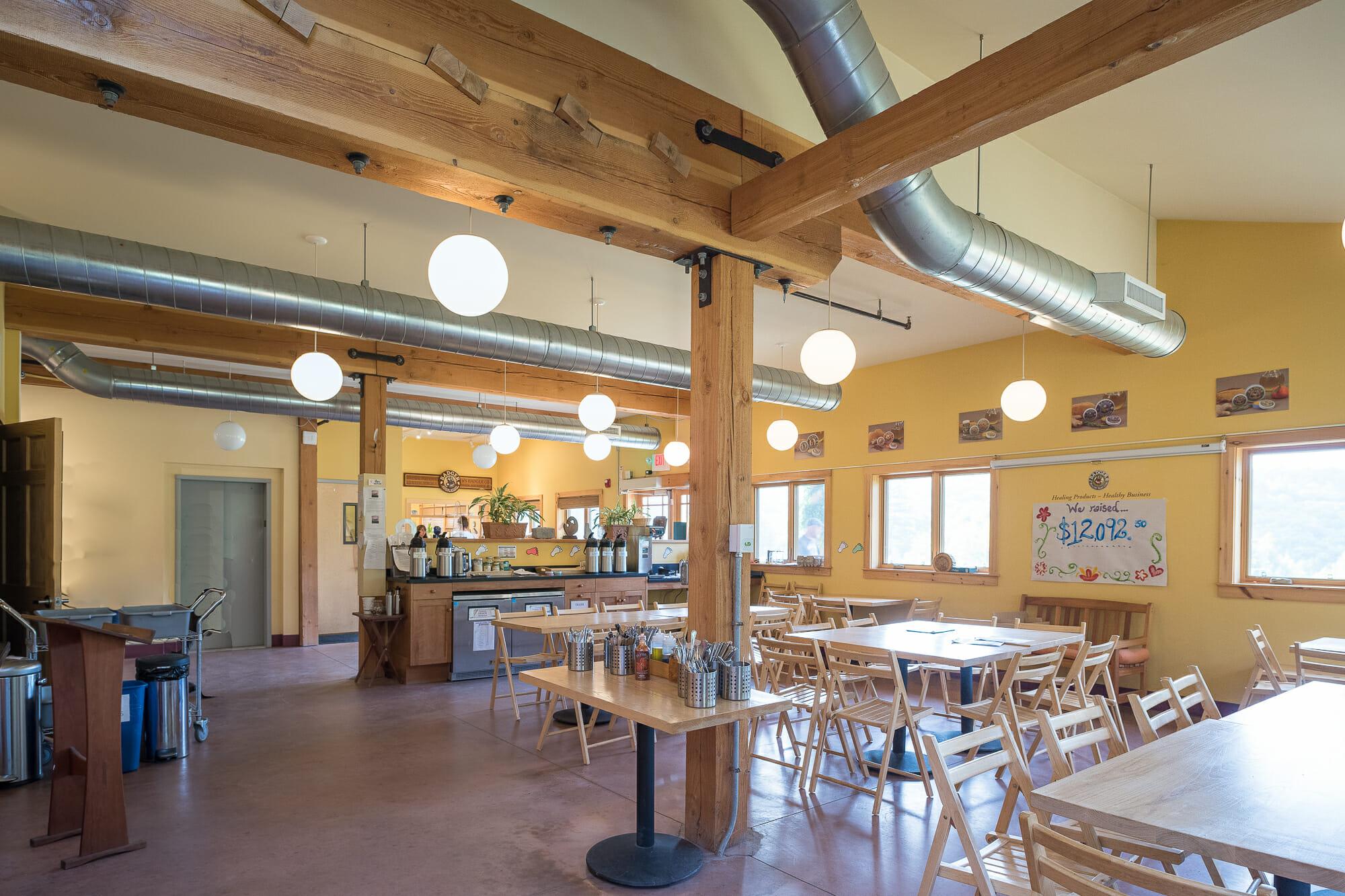 Badger Balm Factory: Hybrid Timber Frame, Gilsum, NH