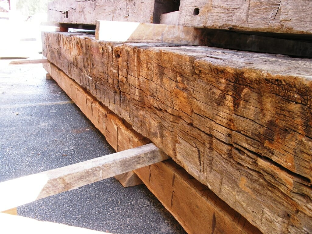 Hand Hewn Timber Rough Beams Reclaimed Beams
