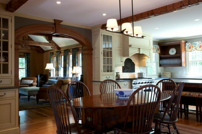 Timber Country Home Interior