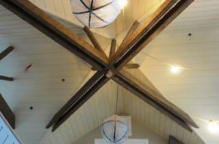 Beautiful Timber Ceiling Beams