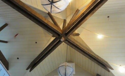 Beautiful Timber Ceiling Beams