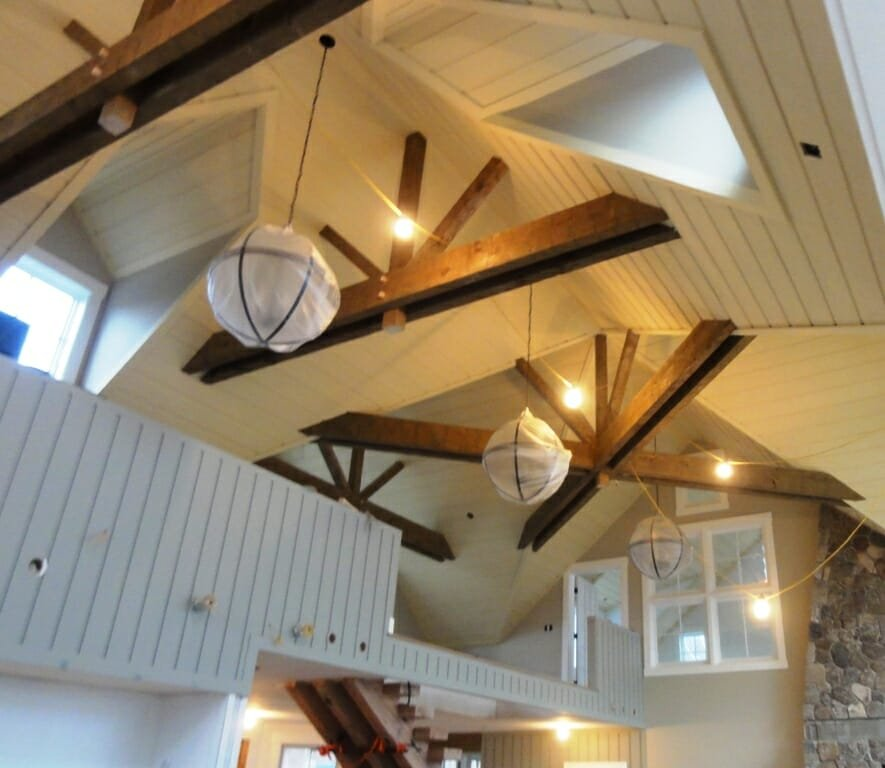 Decorative Reclaimed Timber Ceiling Beams