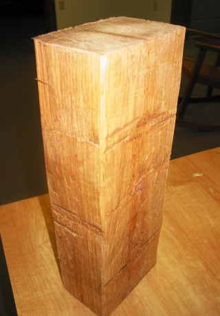 Hand Hewn White Oak