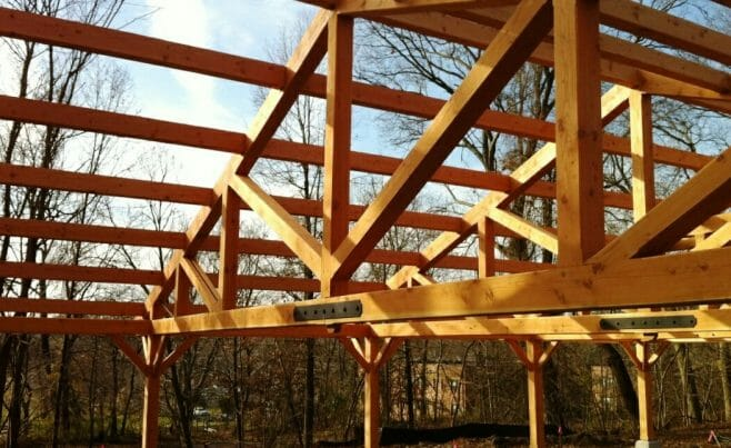 Timber Ceiling Trusses