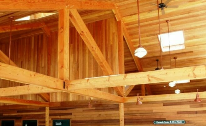 Timber Beam Ceiling
