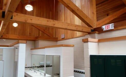 Park Wood Beam Interior