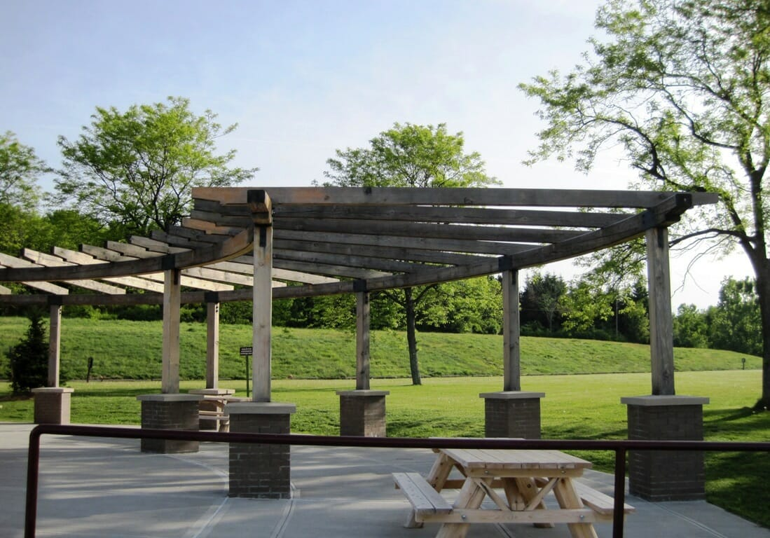 Post and Beam Park Pavilion