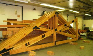 Timber Trusses with Steel Joinery