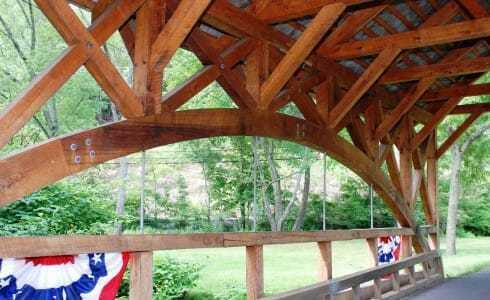 Timber Bridge Arch