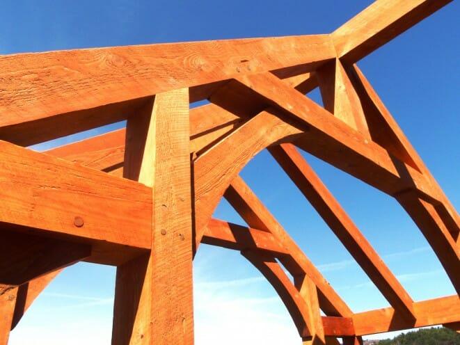 Hemlock Timber Curved Brace