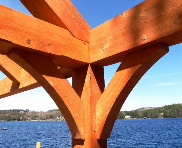 Curved Wood Beams