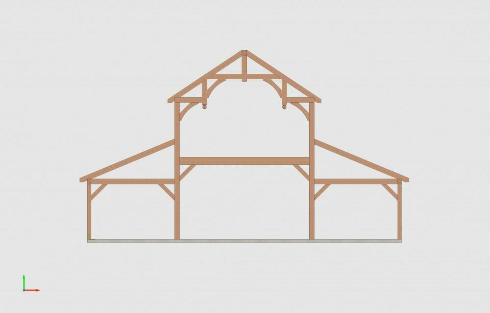 Fancy Barn Frame Style