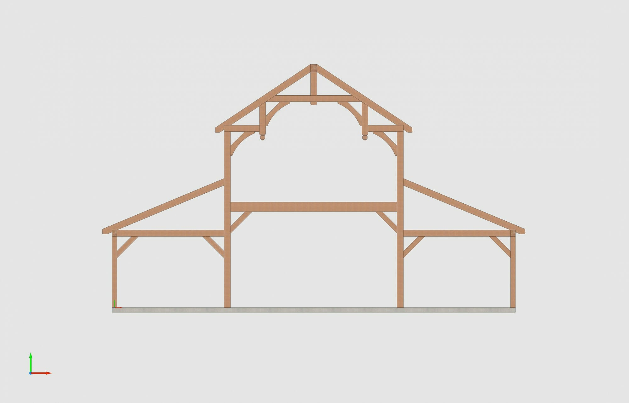 Timber Frame Design of a Fancy Barn