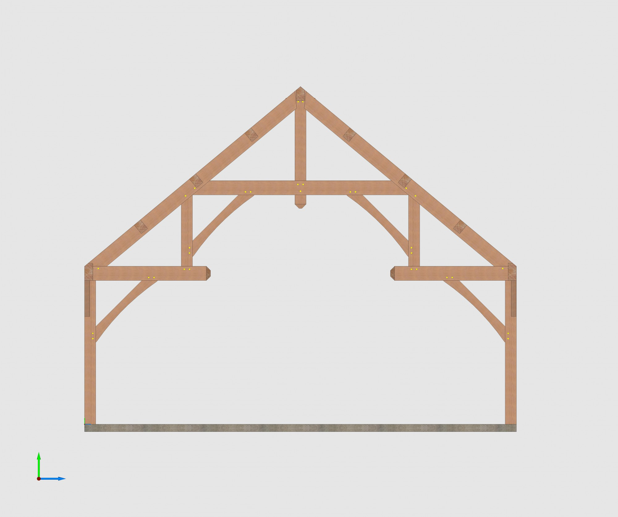 Hammer Beam Frame Style Timber Construction