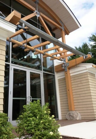 Timber Rafters & Steel Joinery
