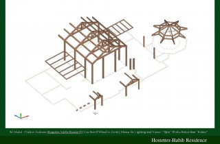 3D Model of the Hostetter-Habib Residence